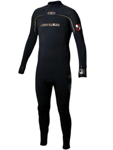 Body Glove Men's EXO 3mm Back-Zip Full Body Wetsuit, Large