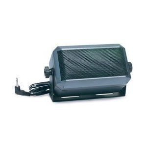 Rectangular External Communications Speaker for Ham Radio, CB & Scanners by Das