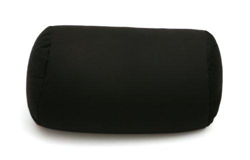 Microbead Roll Bolster Squish - Black - Microbead Pillow ...