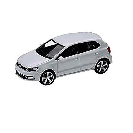 Volkswagen 6C1099301C9A Polo GP 4 Puertas 1:87, Color Blanco Puro ...