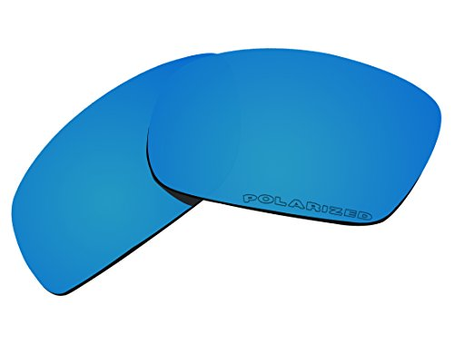 BVANQ Polarized Lenses Replacement Blue Mirror for Oakley Fives Squared New (2013) OO9238 - Sunglasses 2013
