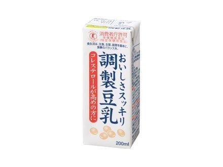 Soyafamu sabor refrescante leche de soja preparada [alimentos para uso sanitario espec?fico Tokuho