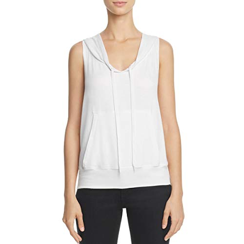 Bailey 44 Womens Sleeveless Pull On Sweatshirt White M