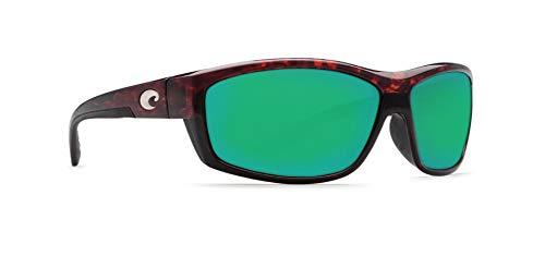 - Costa Del Mar Saltbreak Sunglasses Tortoise/Green Mirror 580Plastic