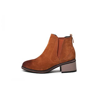 amp;Amp; Platform Dress Leather Casual Novelty US6 amp;Amp; Comfort Kids UK5 Spring Fall Career Boots Party Patent Leatherette Evening Wedding Winter Office RTRY Women'S EU38 Big wqzxZUXnA