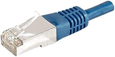Connect 7.50 m Full Copper RJ45 Cat.6a F//UTP LSZH Snagless Patch Cord Black