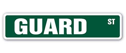 Cortan360 GUARD Street Sign jail guard inmate prison jail  Indoor/Outdoor   8