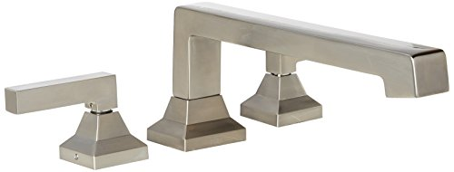 TOTO TB930DD#BN Lloyd Deck Mounted Faucet, Brushed Nickel