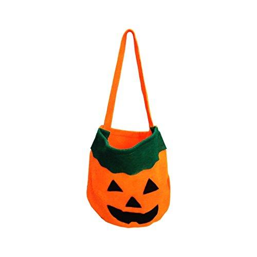 UNKE Halloween Pumpkin Bag Kids Candy Bag for Halloween Party (Article About Halloween Costumes)