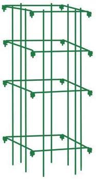 Gardener s Supply Company Square Tomato Cage, Single, Green