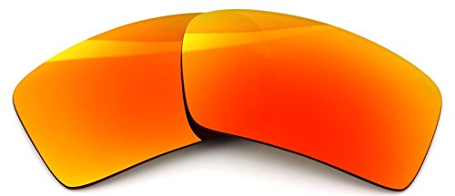 5104a7d1287 Polarized Ikon Iridium Replacement Lenses For Oakley Eyepatch 2 Sunglasses  - Fire Orange Mirror