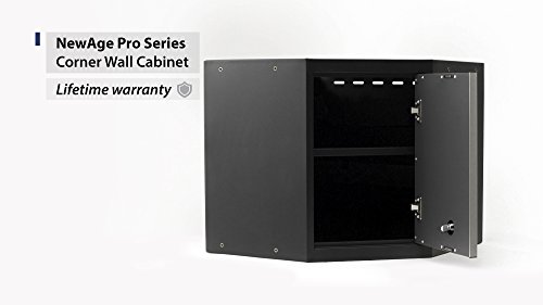 NewAge Products 52001 Pro 3.0 Series Corner Wall Cabinet ...