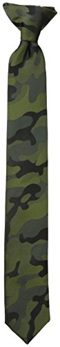 Dockers Big Boys' Clip On Tie, Camo, One - Camouflage Necktie