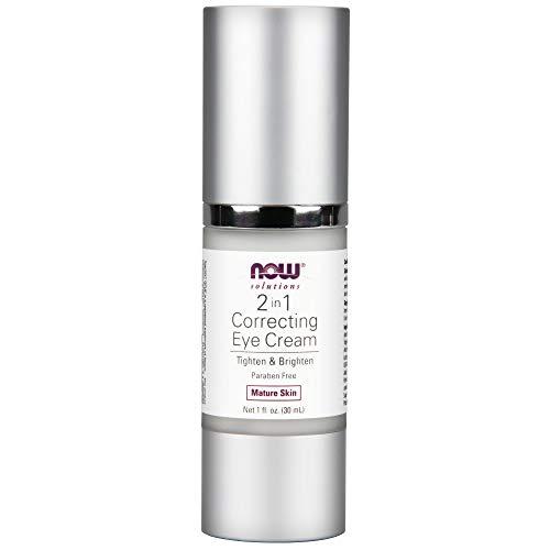 NOW Solutions 2 in 1 Correcting Eye Cream, 1-Ounce (Correcting Eye Care)