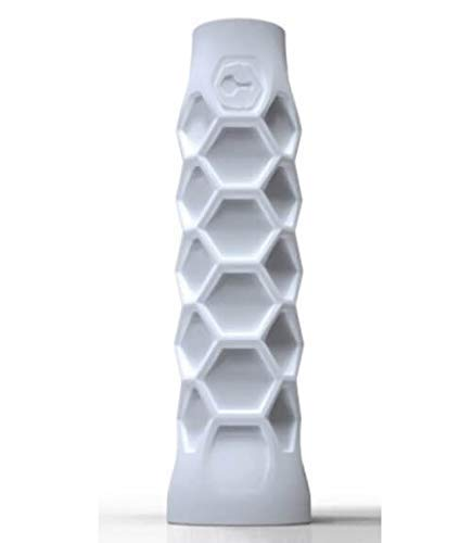 ZRZ Pack Grip Padel HESACORE Tour Grip + 1und overgrip Wilson Pro Confort Liso Blanco Maxima Calidad: Amazon.es: Deportes y aire libre
