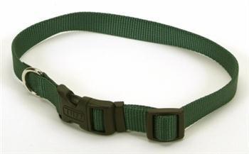 Coastal Pet Tuff Side Release Adjustable Dog Collar (Hunter Green, 14-20 Inch L x 3/4 Inch - Adjustable Tuff 0.75 Collar