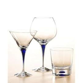Orrefors Intermezzo Martini Glasses 8 Dishwasher-safe Design Erika Lagerbielke Crystal Barware