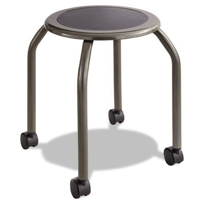 - Safco Products 6667 Diesel Stool Trolley, Pewter