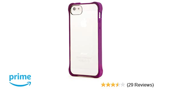 size 40 cf3e3 a5c50 Griffin Purple Survivor Core, Clear Case for iPhone 5/5s, iPhone SE -  See-through protection. Extra tough at the corners.