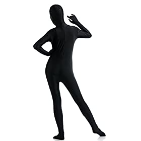 - 31RULVy7X4L - Ensnovo Womens Spandex Lycra One Piece Full Body Suits Zentai Costume