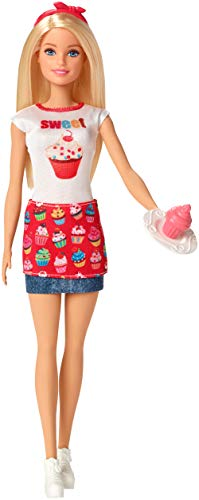 Barbie Careers Cupcake Doll - Bakery Playset Barbie