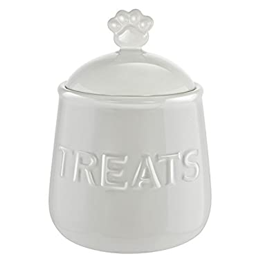 Kovot Pet Snack or Treats Jar - Ceramic Treats Jar with Airtight Lid