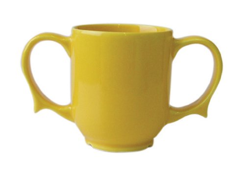 Patterson Medical Dignity Two Handled Mug - Yellow