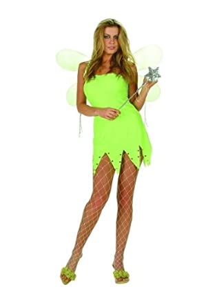amazoncom green fairy adult costume clothing - Green Fairy Halloween Costume