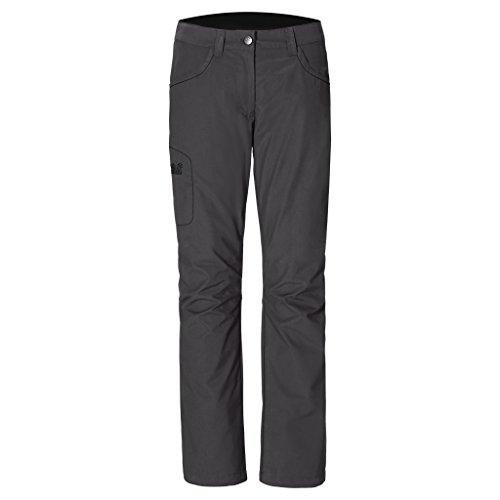 Jack Wolfskin Rainfall Pantalón Impermeable para mujer gris