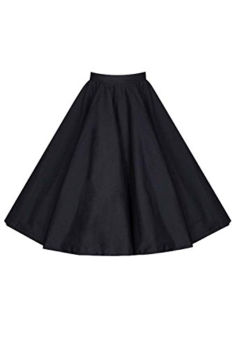 Les Jupes Black2 Et Dcollet Midi Femmes Florale Solide Occasionnel Vintage SgSpqTwB