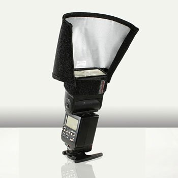 Speed Snoot - HonlPhoto 8-inch Regular Speed Snoot for most On-Camera Shoe-Mount Strobes