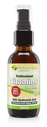 Vitamin C Serum for Face and Skin with Hyaluronic Acid, Anti-Ageing, 60 ml.