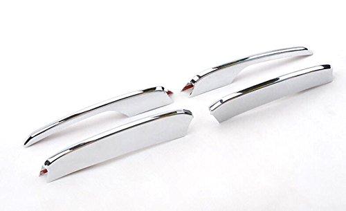 per Q5 2008-2015 fendinebbia Fasce decorative 2 pezzi in plastica ABS cromato (Q5 2012-2015) HIGH FLYING