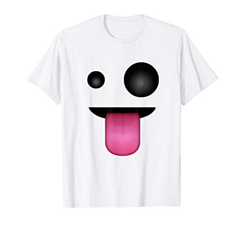 Ghost Face Emoticon Costume T-Shirt for -