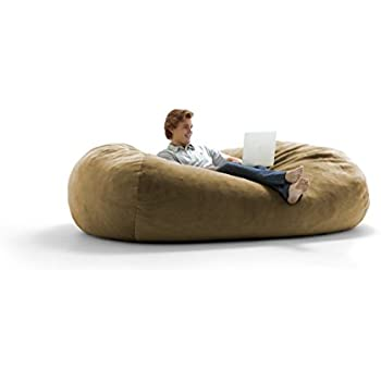 Amazon Com Big Joe Xxl Fuf Foam Filled Bean Bag Chair