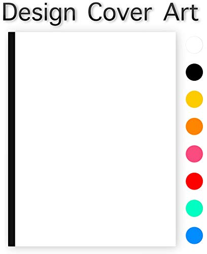 Krisp® ADD YOUR OWN COVER ART Blank Comic Book Storyboard Notebook.