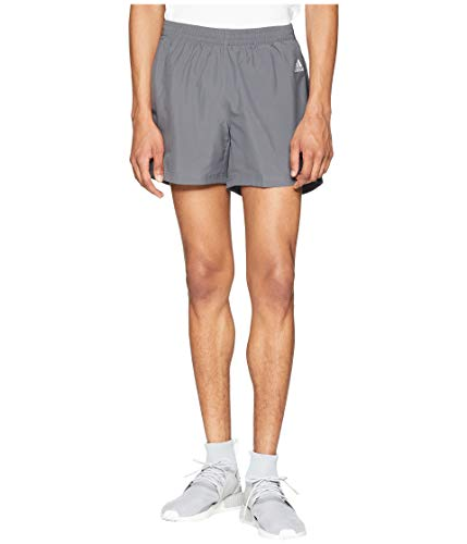 adidas Men's Running Response Short, Grey Five/Black, x-Large-5