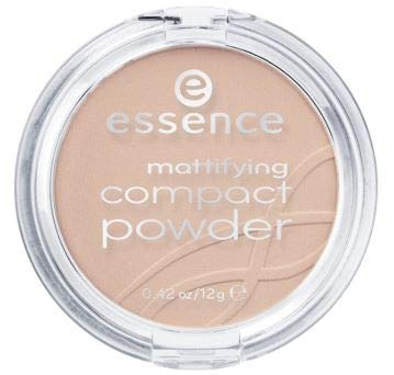 Complexion Matt - ESSENCE Mattifying Compact Powder 01 Natural Beige12g-its Delicate, powdery Texture Spreads smoothly for a Natural, matt Complexion as if Created by a Professional Make-up Artist