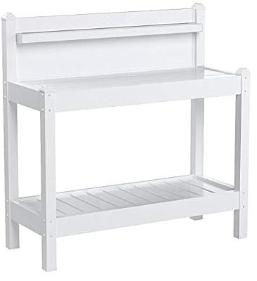 Dura-Trel 11203 Greenfield Potting Bench, White