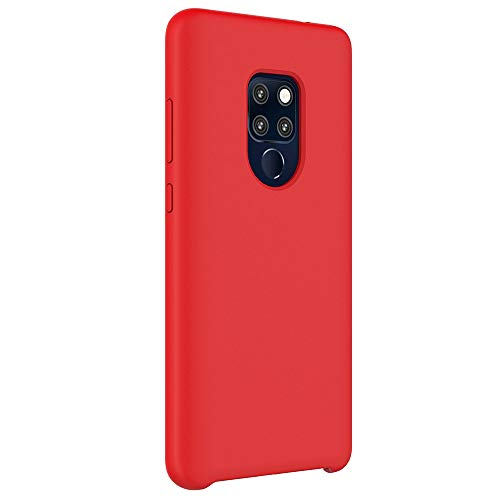 Housse Tpu Anti Pro Silicone Shell Slim Anti Cover choc Flexible Huawei Mate Coque 20 Etui scratch Telephone Protection Bumper Rouge Souple Ultra Mince qn4HzZI