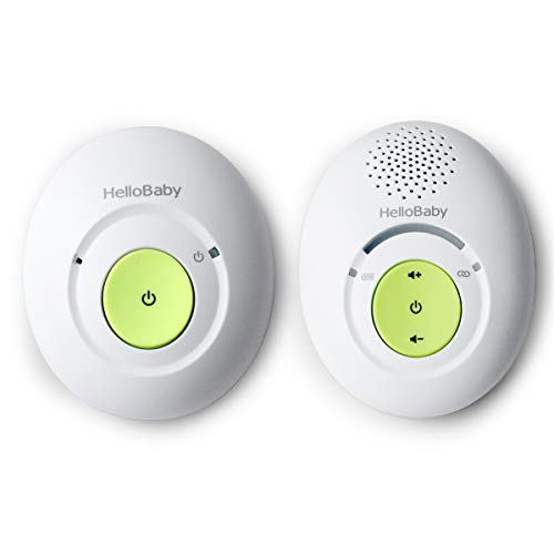 HelloBaby Audio Baby Monitor with Up To 1,000 feet of Range and One-Way Audio System, Sound Level Display