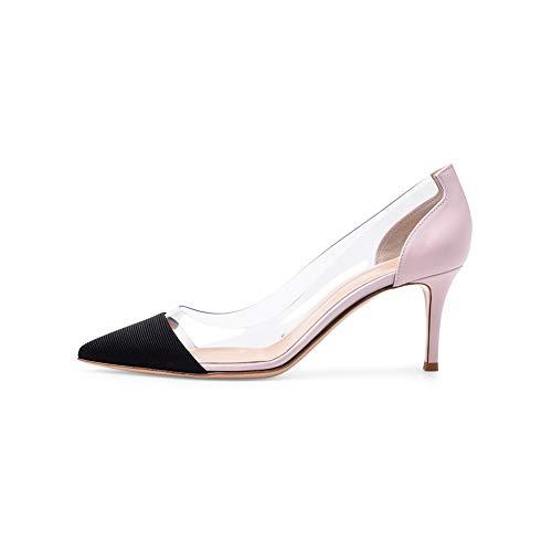 Antidérapant Transparent Mariée Chaussures Habillées Pink Femmes Fête Talons La Couture Plateforme Pointé Mercure Mariage À Hauts Simples Mode 5gwq0xBqC