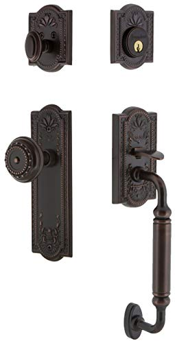 - Grandeur 805968 Parthenon Solid Brass Rose Single Cylinder Keyed Entry Sectional