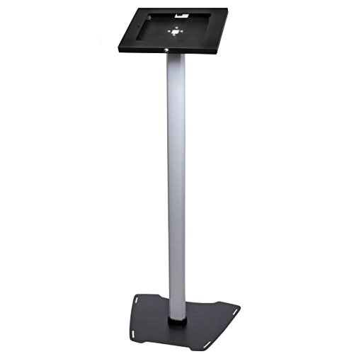 (StarTech.com Secure Tablet Floor Stand - Anti-Theft - Lockable Tablet Stand - for 9.7