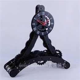 Fashion creative gifts of genuine Tower styling gear personalized clock desk clock