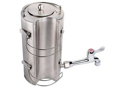 Stainless Steel Outdoor Water Kettle for Wood Military Camping Stove Flue Pipe by Generic