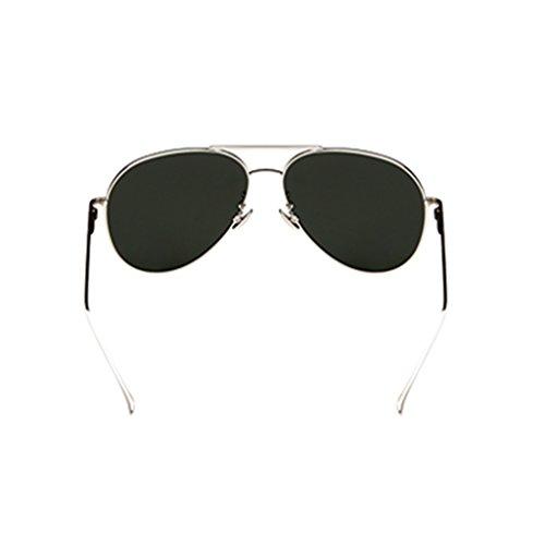 Sol de Unisex Color de Pink de de Gafas Sol Controladores Retro Gafas Gafas ZHHL UV400 polarizadas Sol de Auto La Plata Gafas Conducción de de Las Señoras Playa 51xS4wYqTn