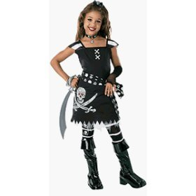 Drama Queens Scar-Let Tween Costume Junior sz 0-2