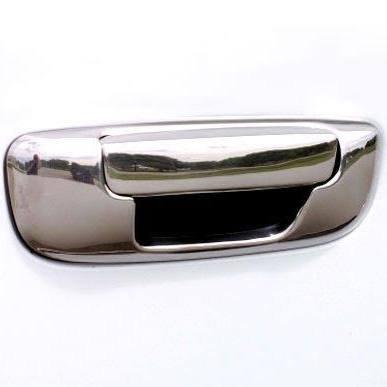 Putco Light Duty Cover - Putco 401076 Tailgate Handle Cover Chrome Pull Handle Only Tailgate Handle Cover