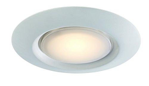 - Trans Globe Lighting LED-30021-1 WH Vanowen Indoor White Contemporary Flushmount, 7.5